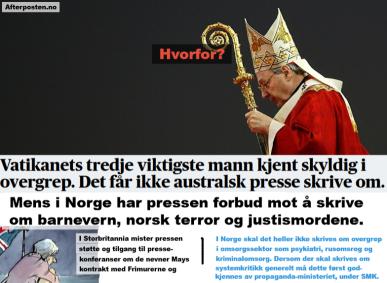 Vatikanet - Bildet øvrest