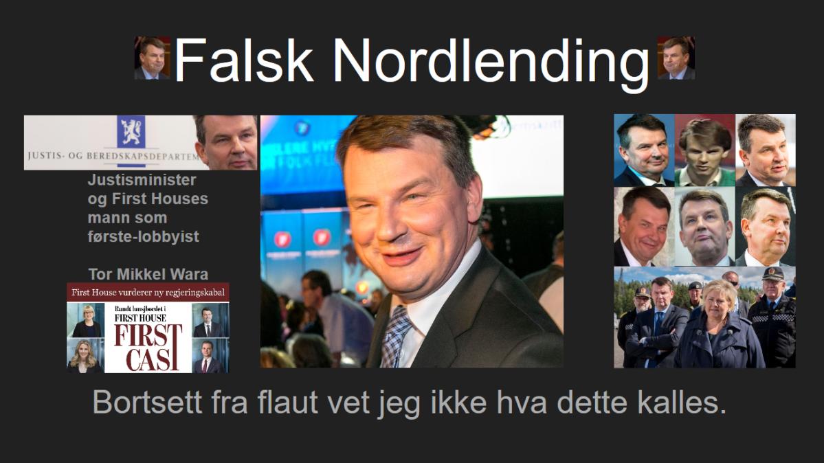 Tor Mikkel Wara har ikke baller til å svare på hvorfor han godkjenner terror og våpenbruk motbarn.